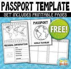 passport template u2026 pinteres u2026