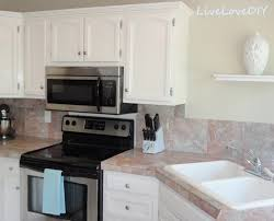 Painted Kitchen Cabinets White Stylish Chalk Paint On Kitchen Cabinets Design Idea And Decors