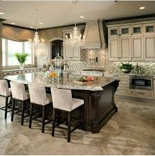 kitchen island decor ideas luxury kitchen island best 25 luxury kitchens ideas on