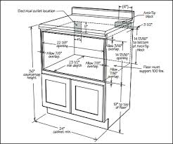 under cabinet microwave dimensions under cabinet microwave dimensions new how to install a drawer in 1