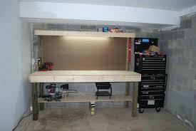 garage workbench building garage workbench cabinet how to the