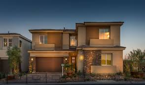 Plan 3 by New Luxury Homes In Southwest Las Vegas