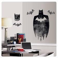 dc comics batman silhouette giant wall mural sticker decal dc comics batman silhouette giant wall mural sticker decal decoration dEcor
