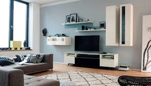 Modular Wall Units Contemporary Tv Wall Unit Lacquered Wood Glossy Lacquered Wood