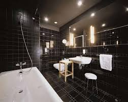 impressive black bathroom design image home design pinterest