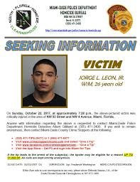 Seeking Miami Miami Dade On Seeking Information On 10 22 17
