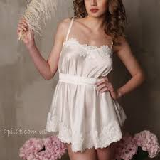 honeymoon sleepwear bridal camisole with lace f5 from alingerie on etsy