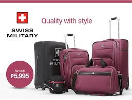 Swiss military luggage set_01 jpg