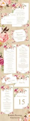 how to make your own wedding programs best 25 print your own wedding programs ideas on diy