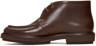 a p c brown etienne desert boots men 171252m224001 148 52
