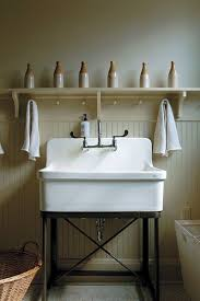Laundry Room Utility Sinks Even A Laundry Room Can Be A Suitable Place For Artful Displays