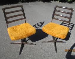 1960s Patio Furniture Swivel Chair Etsy