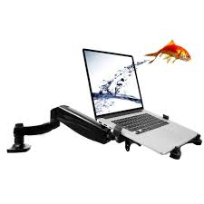 fleximounts 2 in 1 full motion swivel monitor arm desk mounts for