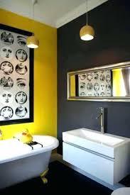 yellow and grey bathroom decorating ideas modern bathroom decorating ideas hermelin me