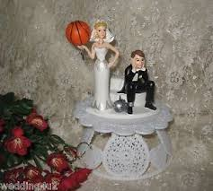 and chain cake topper wedding party reception basketball goal cake topper sports