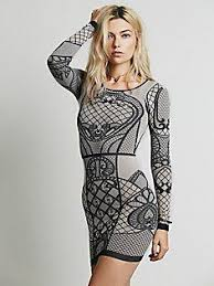 intimately art deco bodycon slip at free people clothing boutique