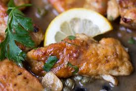 Chicken Piccata Cooking Light Chicken Piccata Boneless Chicken In A Luscious Lemony Sauce
