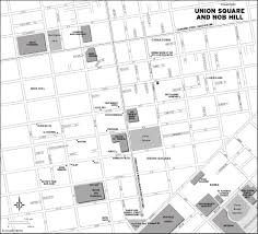 Union Square San Francisco Map by San Francisco Treasures Grace Cathedral And Cable Cars