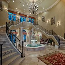 classy and fancy living room water fountain for big house classy