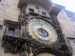 prague astronomical clock on old town hall maxitourist com