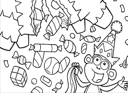 candy coloring pages 9208