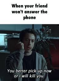 Answer Phone Meme - answer phone gifs search find make share gfycat gifs