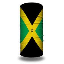 Triangle Flag Case Jamaican Flag Bandana Flag Face Masks