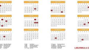 Kalender 2018 Hari Raya Idul Fitri Pemerintah Tetapkan Hari Libur Nasional Dan Cuti Bersama Tahun