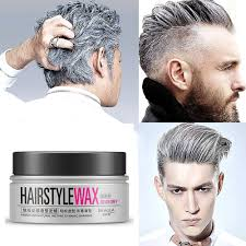 amazon com bioaoua hairstyle wax for all type gray