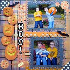 scrapbook halloween background boo scrapbook com randi scrapbook pinterest scrapbook