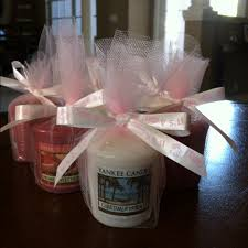 candles and favors yankee candle party favors baby shower ideas