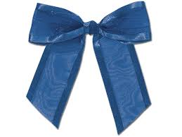 pre bows royal pre sheer bows organza w satin edge 1 1 2 ribbon 24423