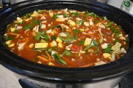 crockpot vegetarian minestrone soup recipe shawna coronado