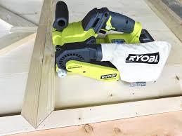 Ryobi Portable Flooring Saw by Ryobi 18v One Cordless Brushless Belt Sander Tool Review