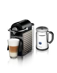 Titan Kitchen Nespresso Ac60ustine Pixie C60 Electric Titan Aero Bundle