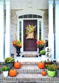 Fall Porch Decorating Idea DIY Fall Curb Appeal
