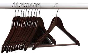 home it 24 pack solid wood clothes hangers coat hanger