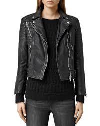 leather biker jacket allsaints papin leather biker jacket bloomingdale u0027s
