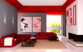 Shades Of Red Color Latest Living Room Design Simple For 2014 Exclusive Home Design