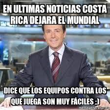 Costa Rica Meme - meme matias prats en ultimas noticias costa rica dejara el mundial