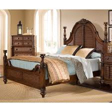 picket house furnishings grayson storage poster bed hayneedle