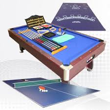 Ping Pong Pool Table Pool Table Conversion Top Air Hockey Combo Table Tennis