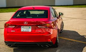 lexus is 200t safety 2017 lexus is 200t f sport red exterior rear corner gallery photo