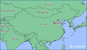 china on a map where is beijing china where is beijing china located in the