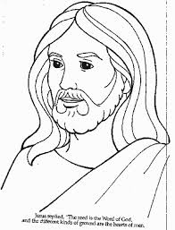 the most stylish as well as beautiful coloring pages of jesus
