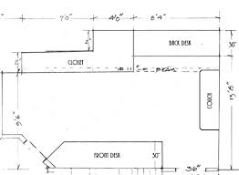 Floating Desk Plans Floating Wall Length Desk Plan W Pics U0026 Questions Woodworking