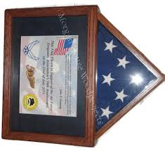 Custom 3x5 Flags Flag Case With Certificate