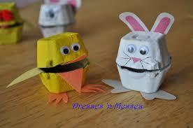 egg carton and bunnies dresses u0027n messes