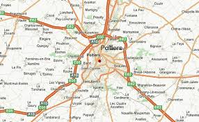 map of poitiers poitiers weather forecast