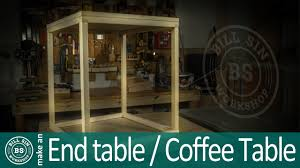 how to build end table simple end table design youtube